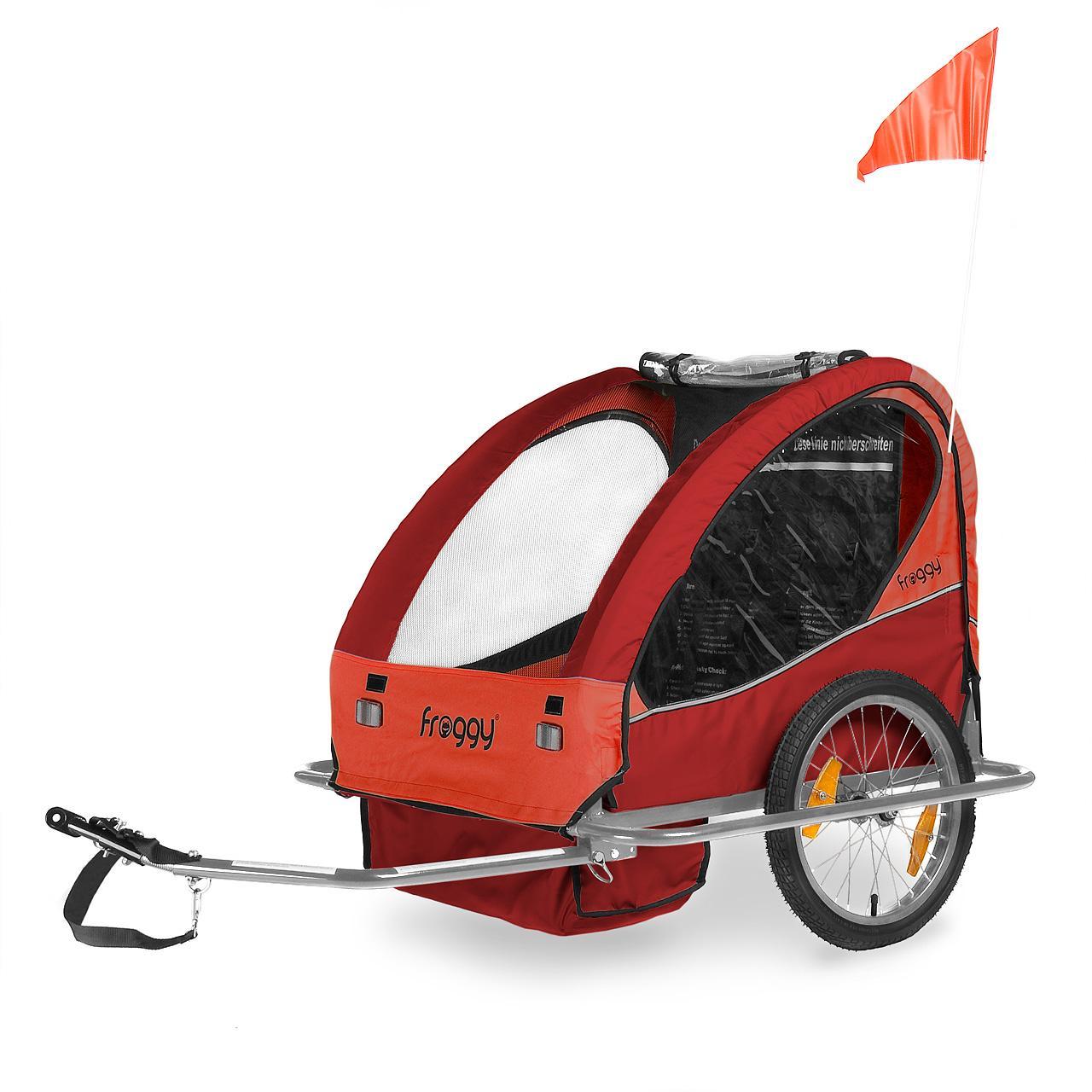 Kinderfahrradanhaenger-Aluminium-Fahrradanhaenger-Kinder-Kinderanhaenger-Jogger-ALU