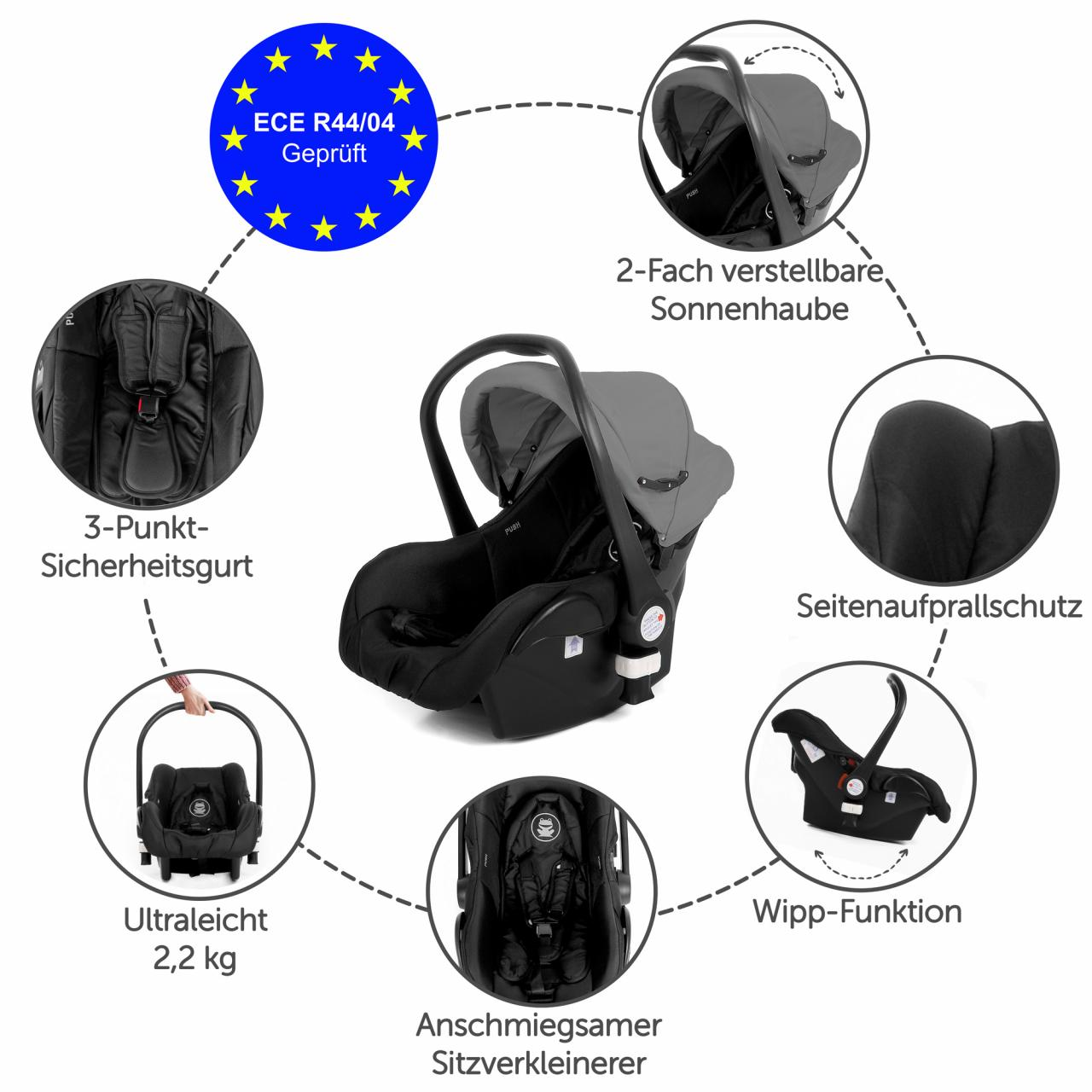 cocoon autositz babyschale auto babysitz kindersitz baby. Black Bedroom Furniture Sets. Home Design Ideas