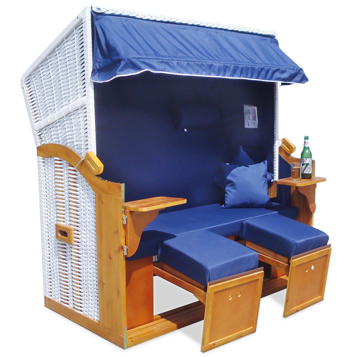 strandkorb 160cm premium nordsee volllieger gartenm bel. Black Bedroom Furniture Sets. Home Design Ideas