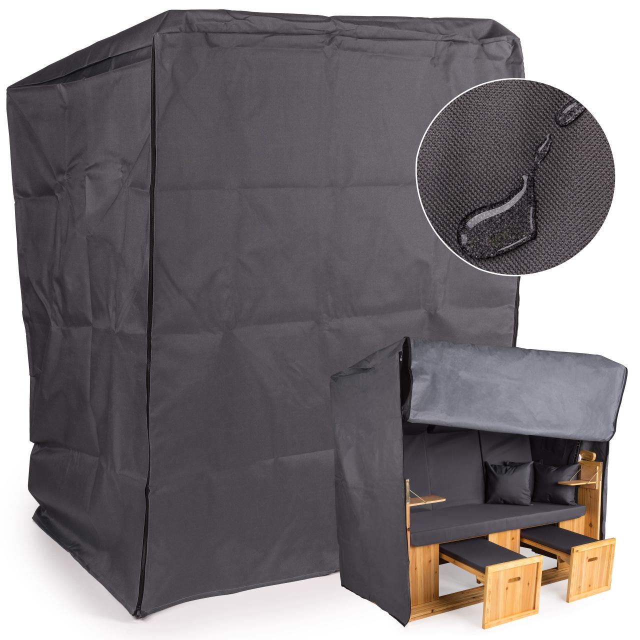 schutzh lle f r strandkorb regenabdeckung abdeckplane regenschutz abdeckhaube ebay. Black Bedroom Furniture Sets. Home Design Ideas
