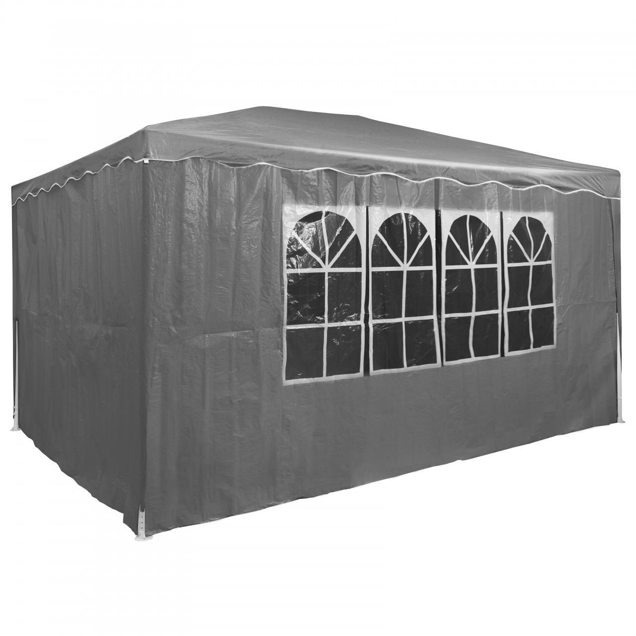 Partyzelt-Festzelt-3x4m-Gartenpavillon-Gartenzelt-Bierzelt-Zelt-Pavillon