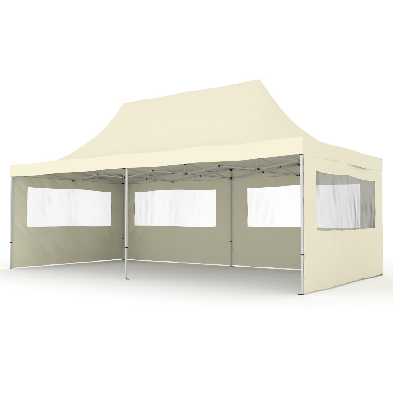 3x6 gartenpavillon alu faltzelt faltpavillon klappzelt gartenzelt partyzelt zelt ebay. Black Bedroom Furniture Sets. Home Design Ideas