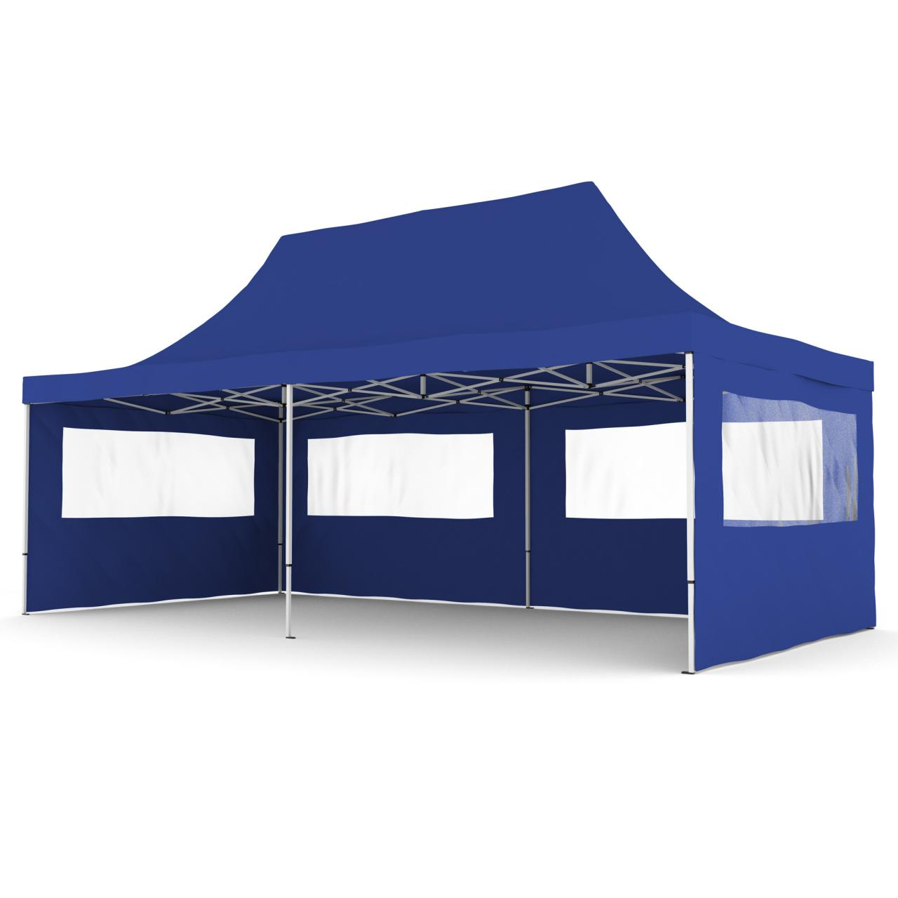 3x6 gartenpavillon alu faltzelt faltpavillon klappzelt gartenzelt partyzelt zelt ebay. Black Bedroom Furniture Sets. Home Design Ideas
