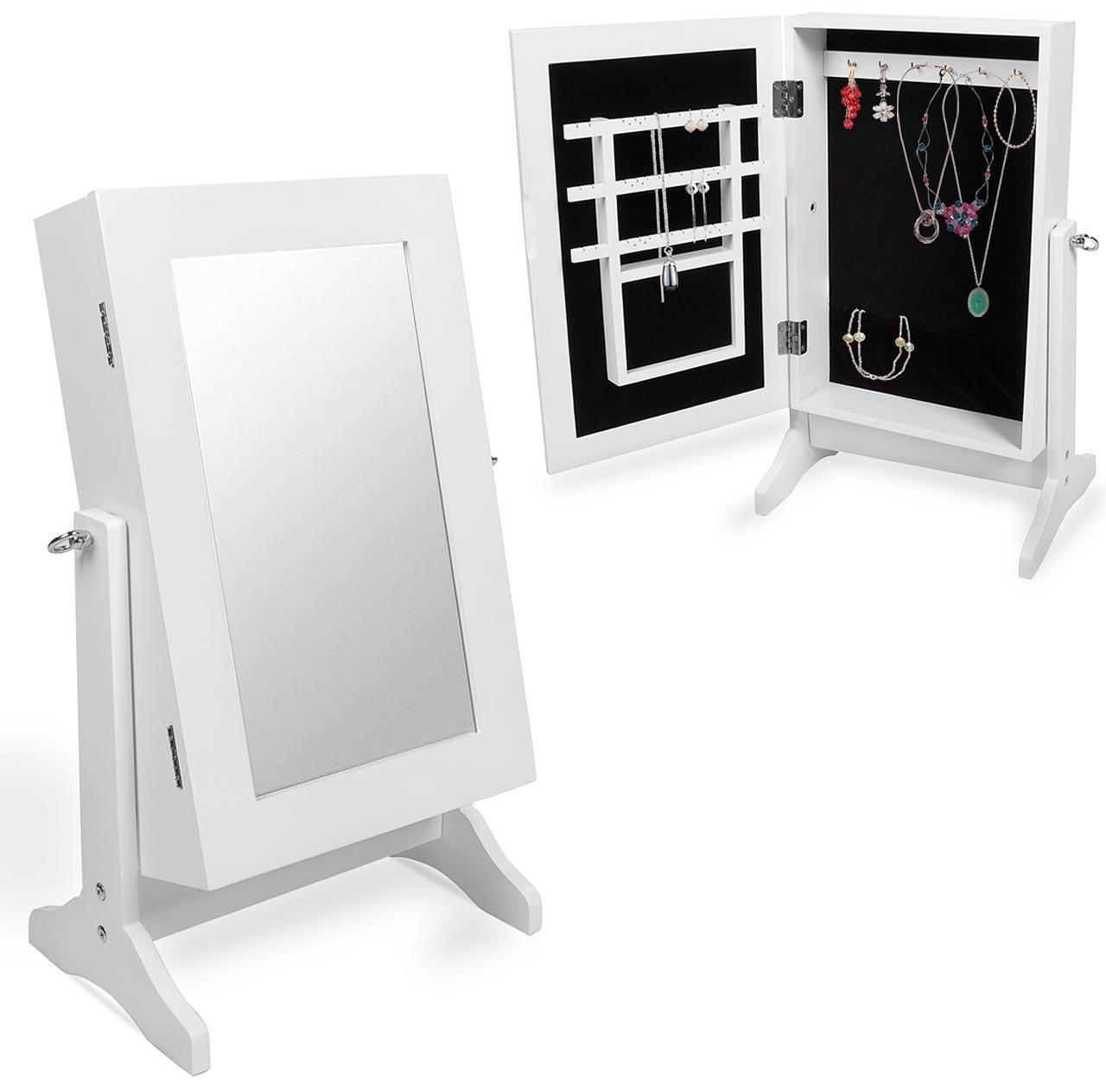 schmuckschrank spiegelschrank spiegel standspiegel schmuck. Black Bedroom Furniture Sets. Home Design Ideas