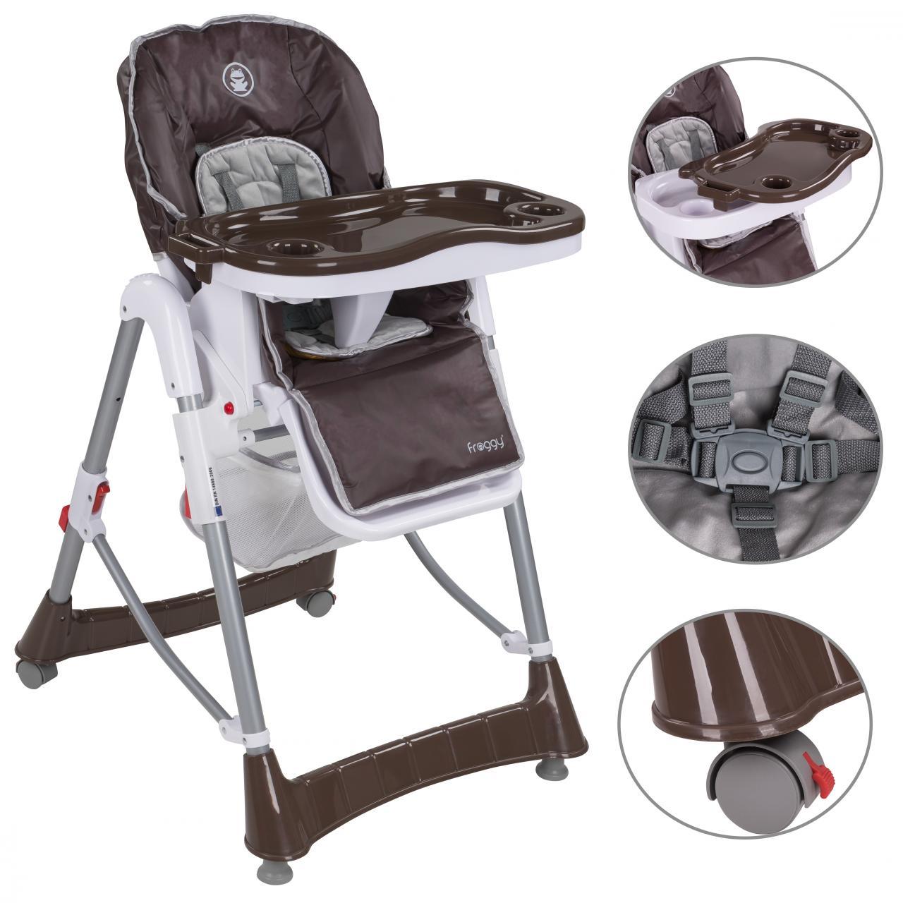 Chaise haute pour b b r glable ebay - Chaise de bebe pour manger ...