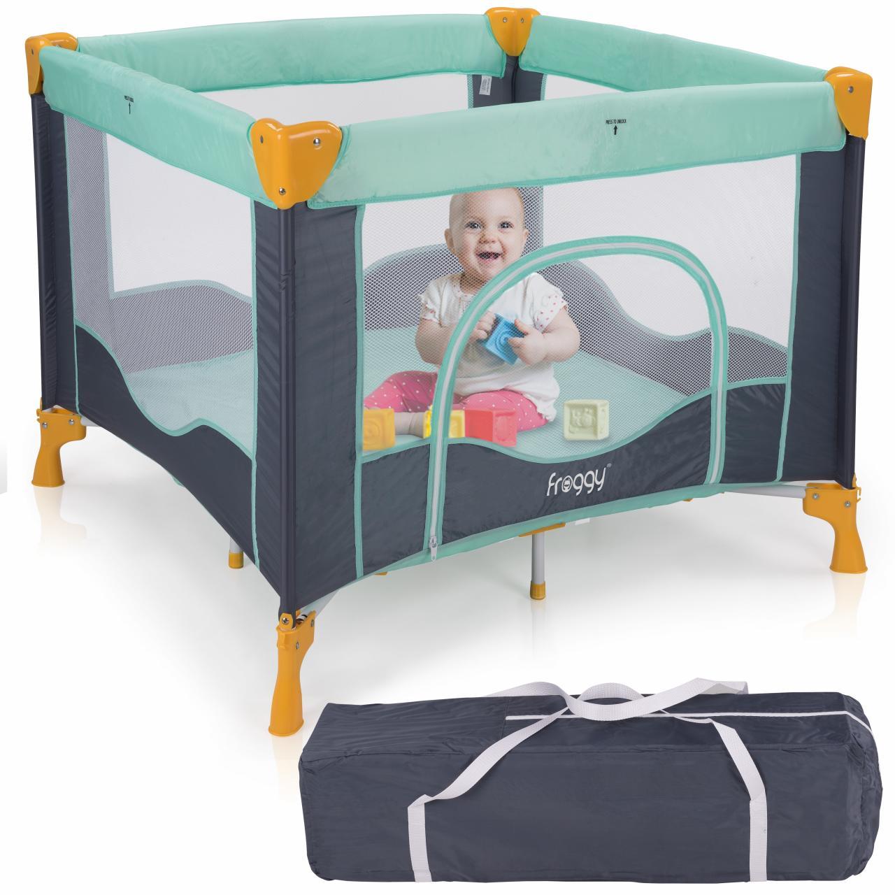 Reisebett-Laufstall-Babyreisebett-Spielstall-Babybett-Kinderbett-Kinderreisebett