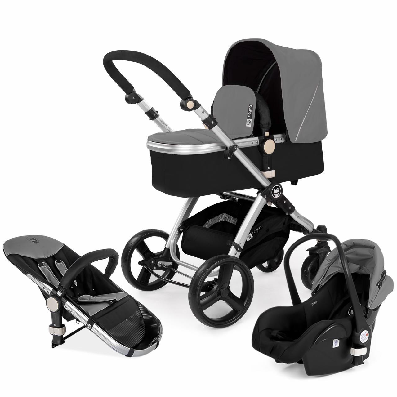 Kombikinderwagen-3in1-Kombi-SET-Kinderwagen-inkl-Babyschale-Buggy-Kinderwagenset