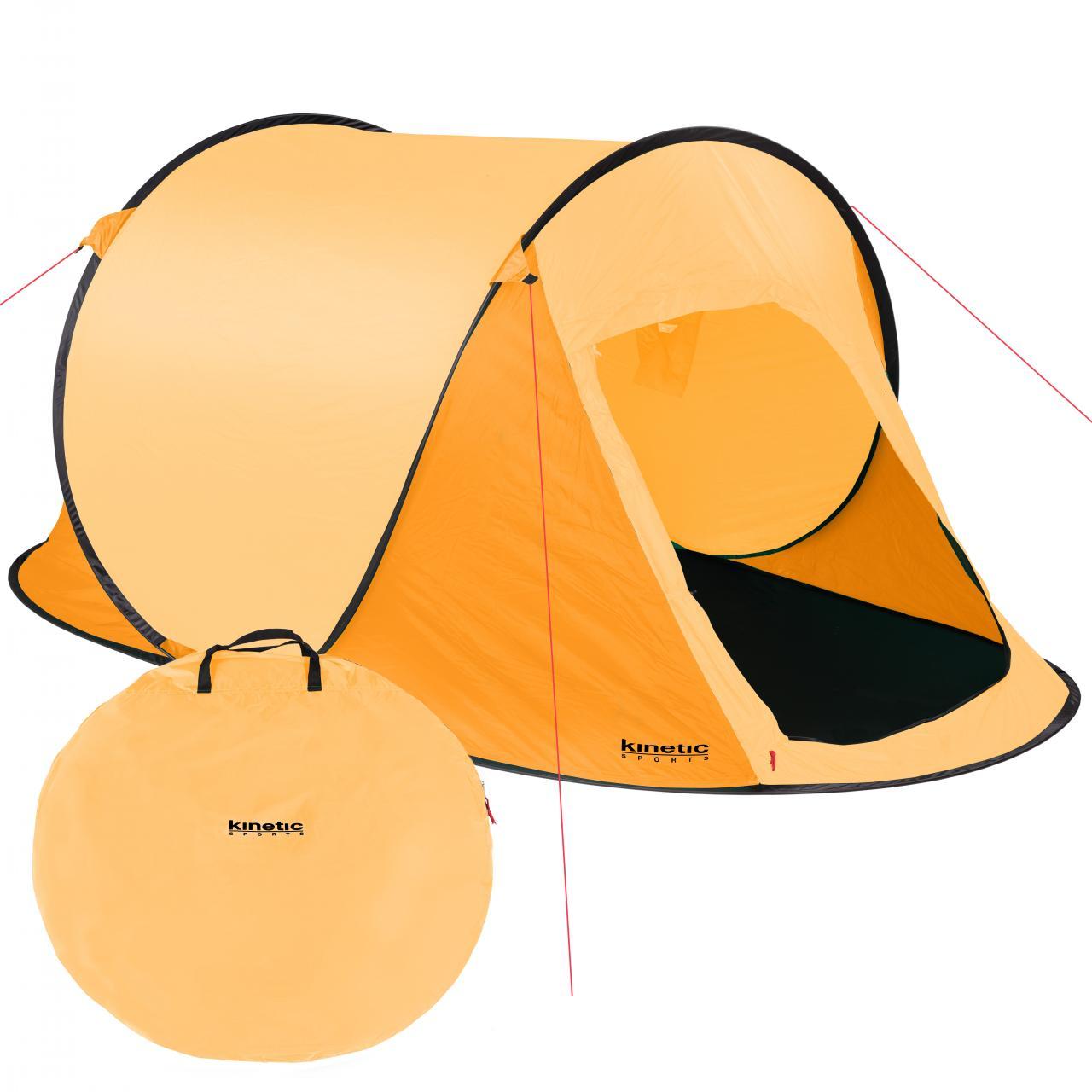 Wurfzelt-Pop-Up-Zelt-2-Personen-Trekkingzelt-Sekundenzelt-Automatikzelt-Camping