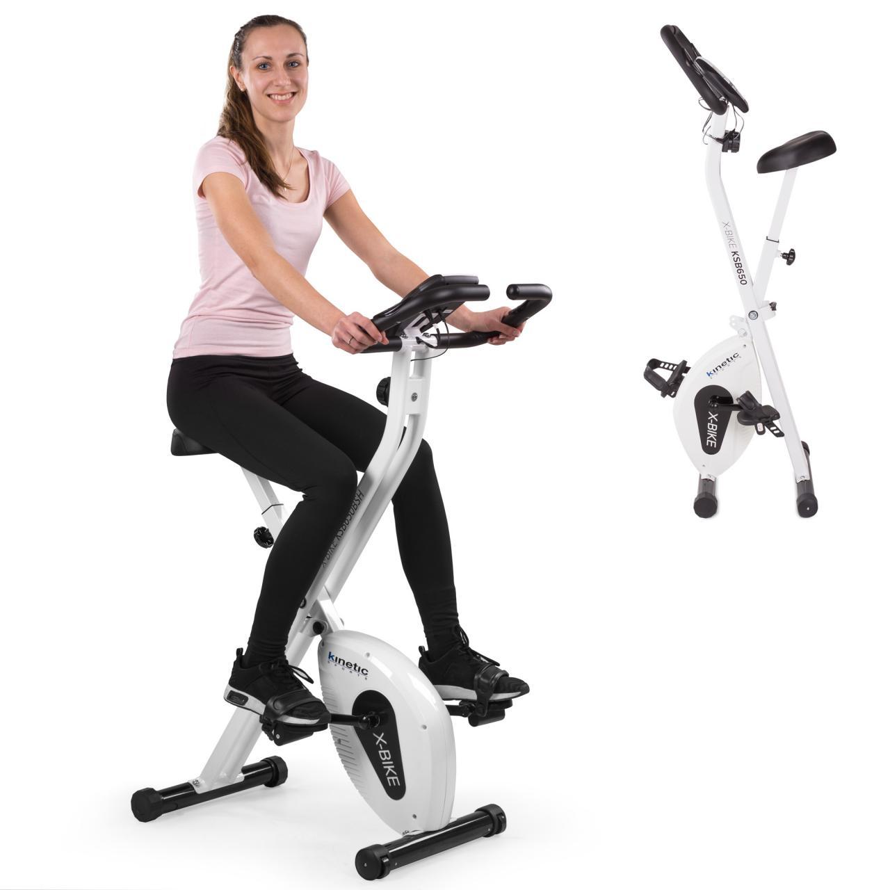heimtrainer fitnessbike fahrrad ergometer indoorcycling ergo trimmrad klappbar ebay. Black Bedroom Furniture Sets. Home Design Ideas