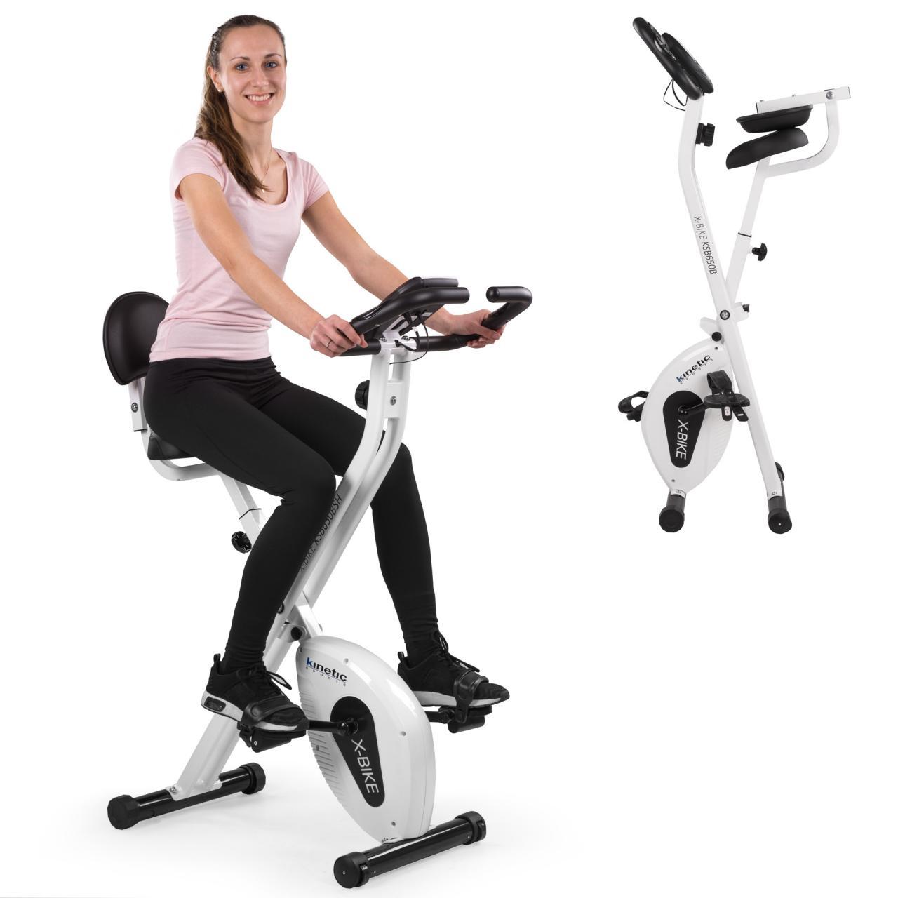 Indoor-F-Bike-Fitnessbike-Heimtrainer-Ergometer-Indoorcycling-Zusammenklappbar