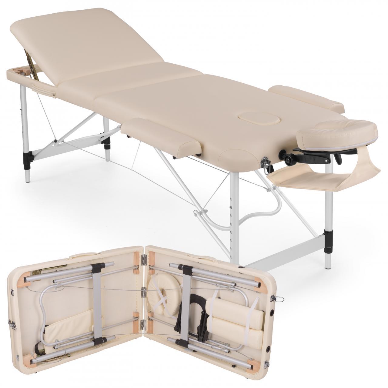 alu massageliege 3 zonen massagetisch. Black Bedroom Furniture Sets. Home Design Ideas
