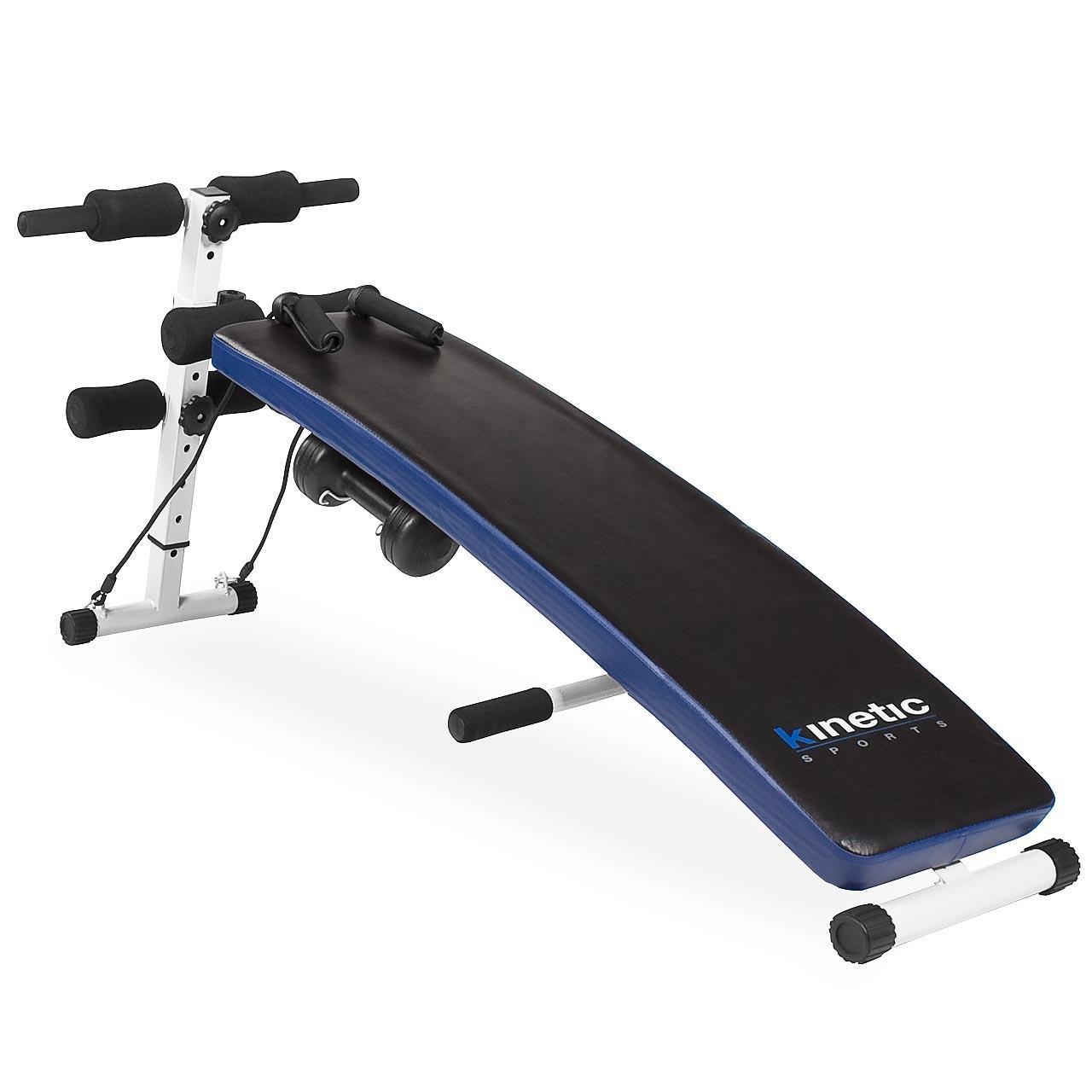 Sit-up-Bauchtrainer-Bauch-Muskel-Aufbau-Trainingsbank-Fitnessgeraet-Trainer
