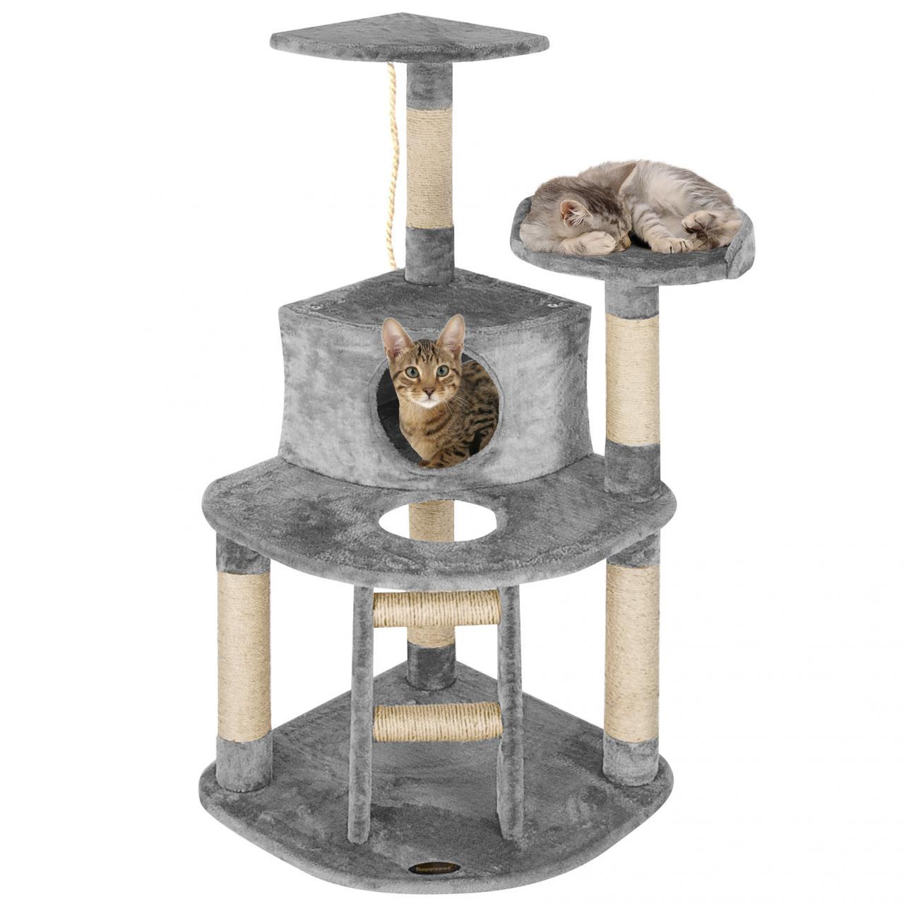 happypet kratzbaum cat007 2 katzenkratzbaum katzenbaum katzen mittelgross ebay. Black Bedroom Furniture Sets. Home Design Ideas
