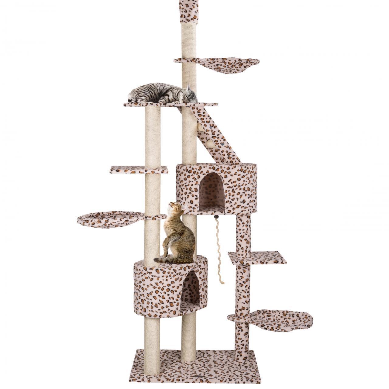 Kratzbaum-Katzenkratzbaum-Katzenbaum-Katzen-deckenhoch-hoehenverstellbar