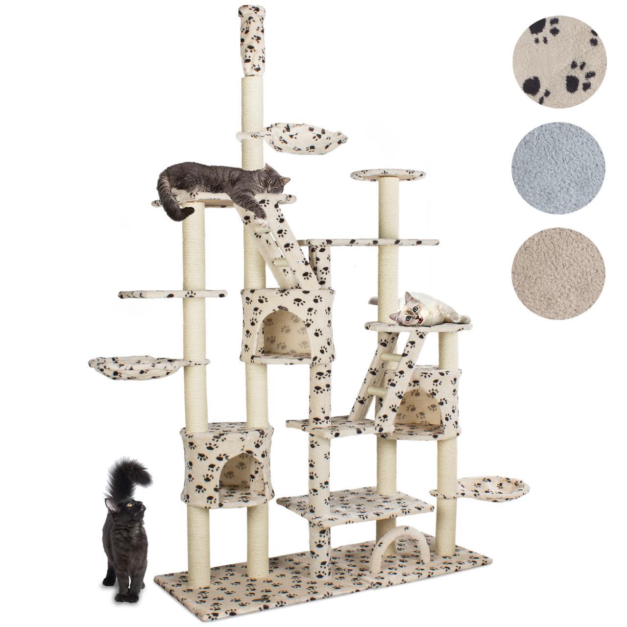 kratzbaum katzenkratzbaum katzenbaum katzen gro farbwahl ebay. Black Bedroom Furniture Sets. Home Design Ideas