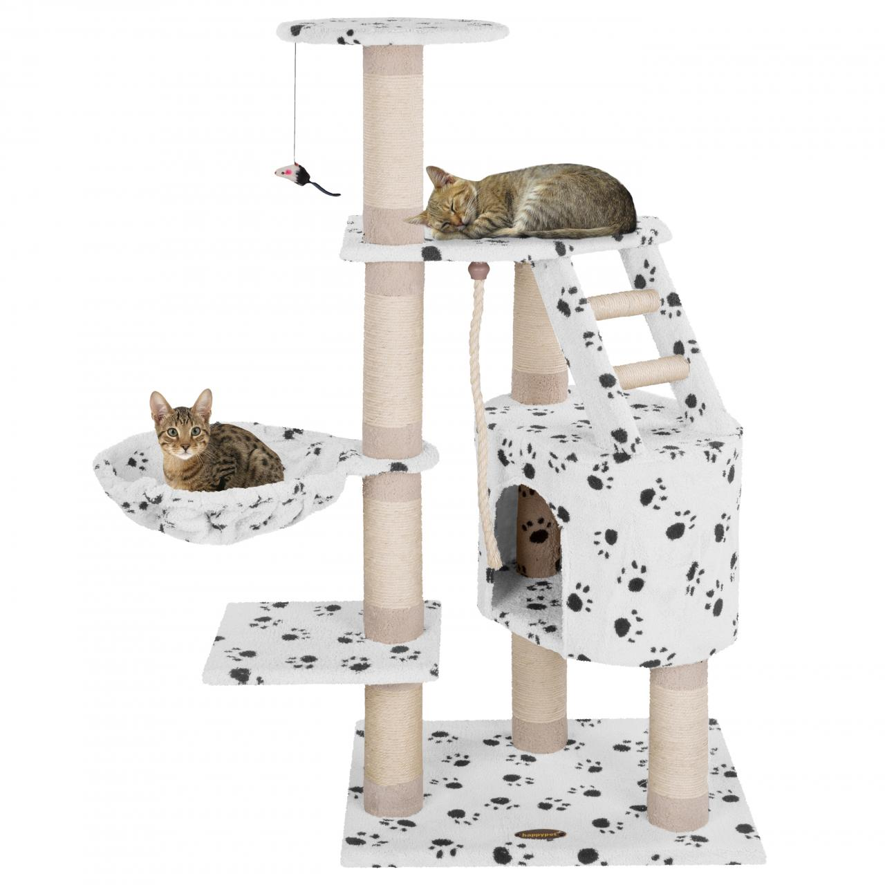 Kratzbaum-Katzenkratzbaum-Katzenbaum-Katzen-mittelgross-Farbwahl-Kletterbaum
