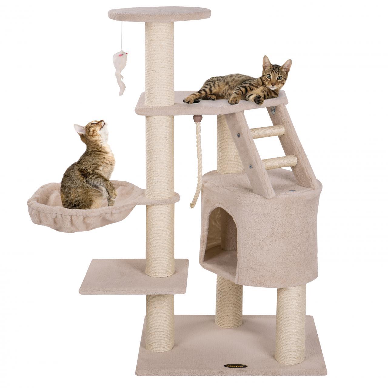 Tiragraffi gatti medio grande 120 cm albero palestra for Arredamento per gatti