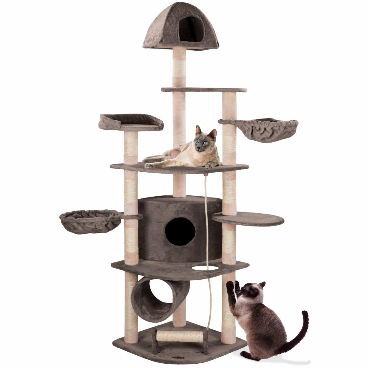 Happypet arbre chat griffoir grattoir sisal troncs 8cm for Arbre artificiel grande taille