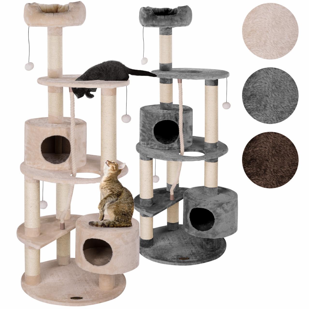 arbre chat griffoir grattoir 100cm diverses couleurs happypet cat018 neuf ebay. Black Bedroom Furniture Sets. Home Design Ideas