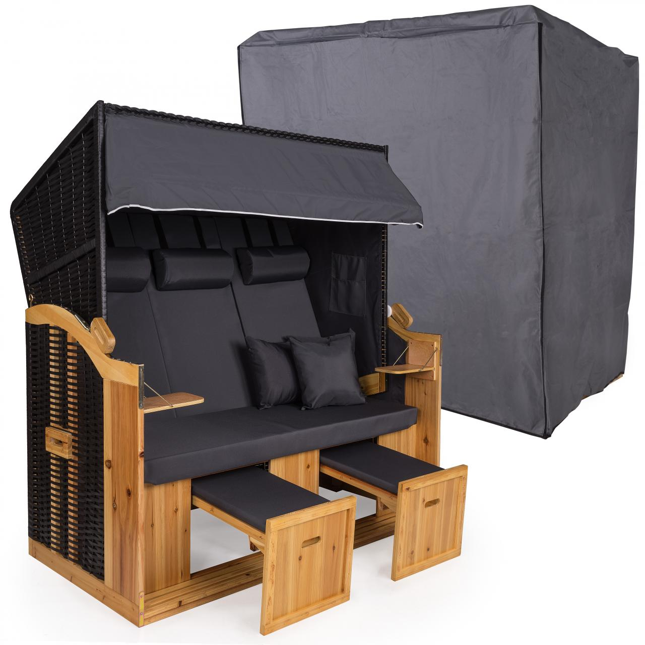 abdeckhaube f r strandkorb bc160 rugbyclubeemland. Black Bedroom Furniture Sets. Home Design Ideas