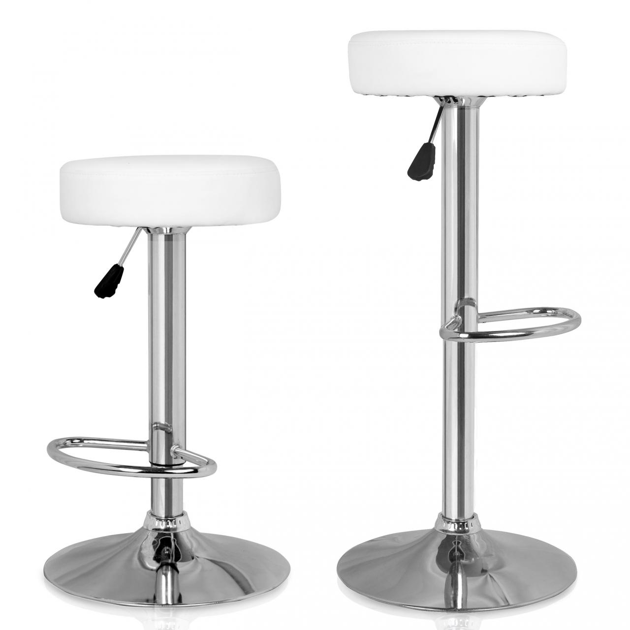 2 x sgabelli bar set sedie pranzo cucina moderni seduta - Altezza sgabelli cucina ...