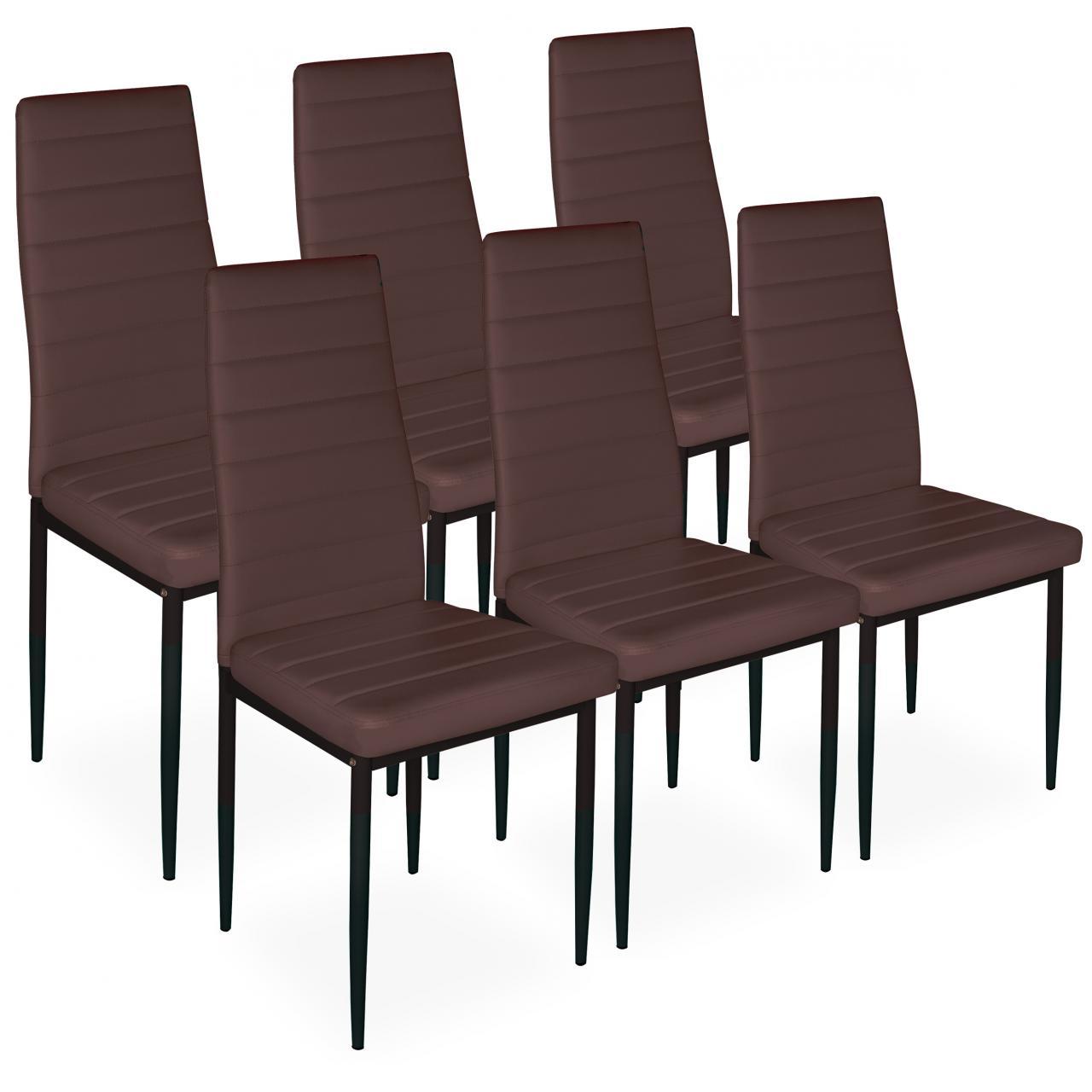 HOMELUX Esszimmerstuhl 2/4/6 Stk. Stühle Küchenstuhl Essgruppe ...