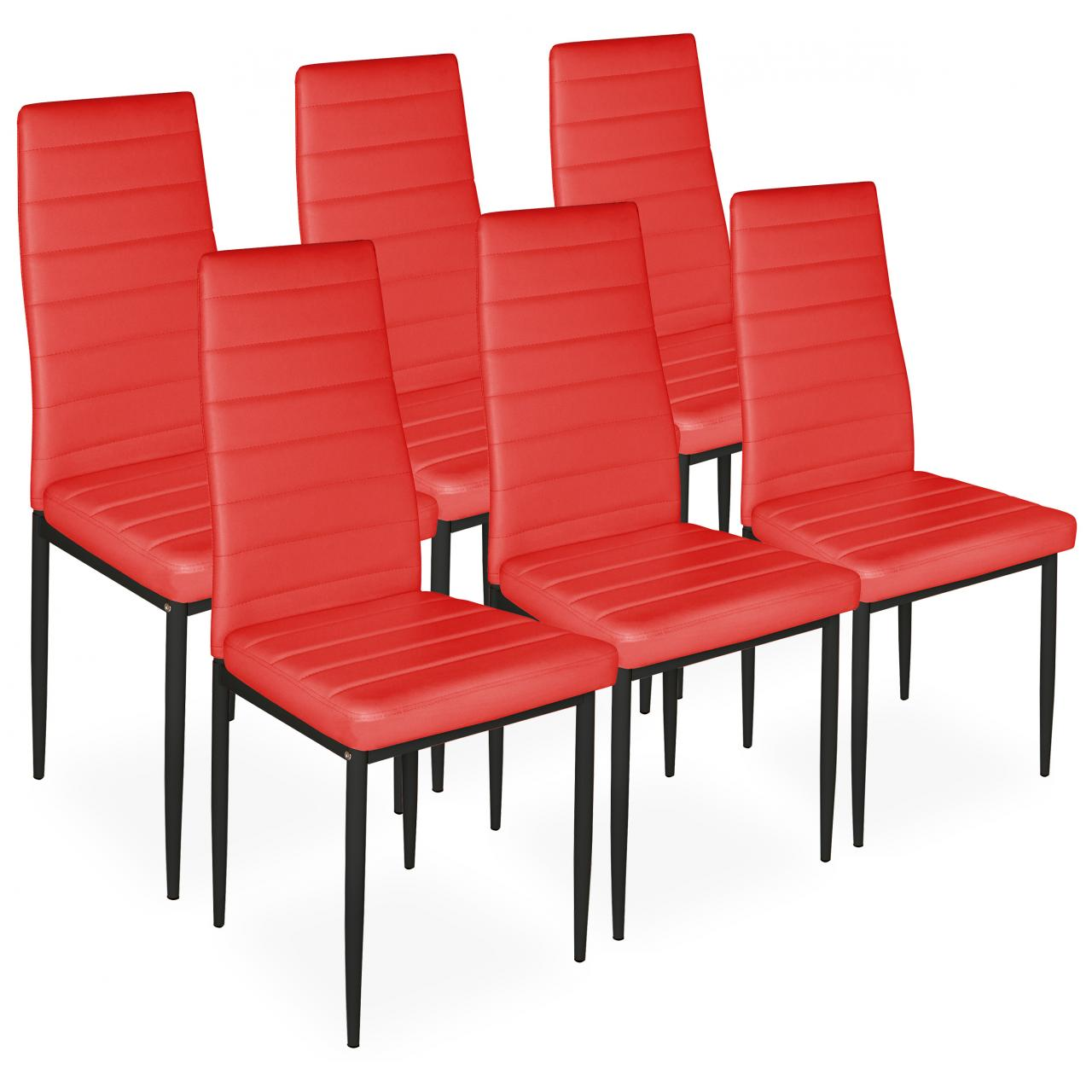 Esszimmer-Stühle Küche Polster-Stuhl-Gruppe Gepolstert 2er 4er oder ...