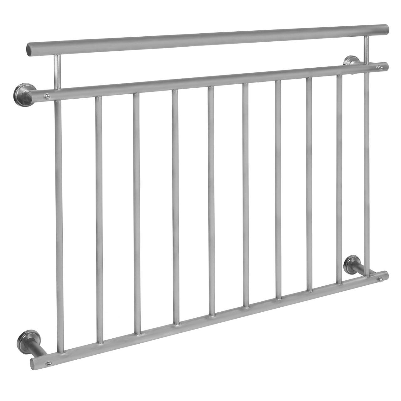inox balkongitter franz sischer balkon edelstahl gel nder fenstergitter v2a matt ebay. Black Bedroom Furniture Sets. Home Design Ideas