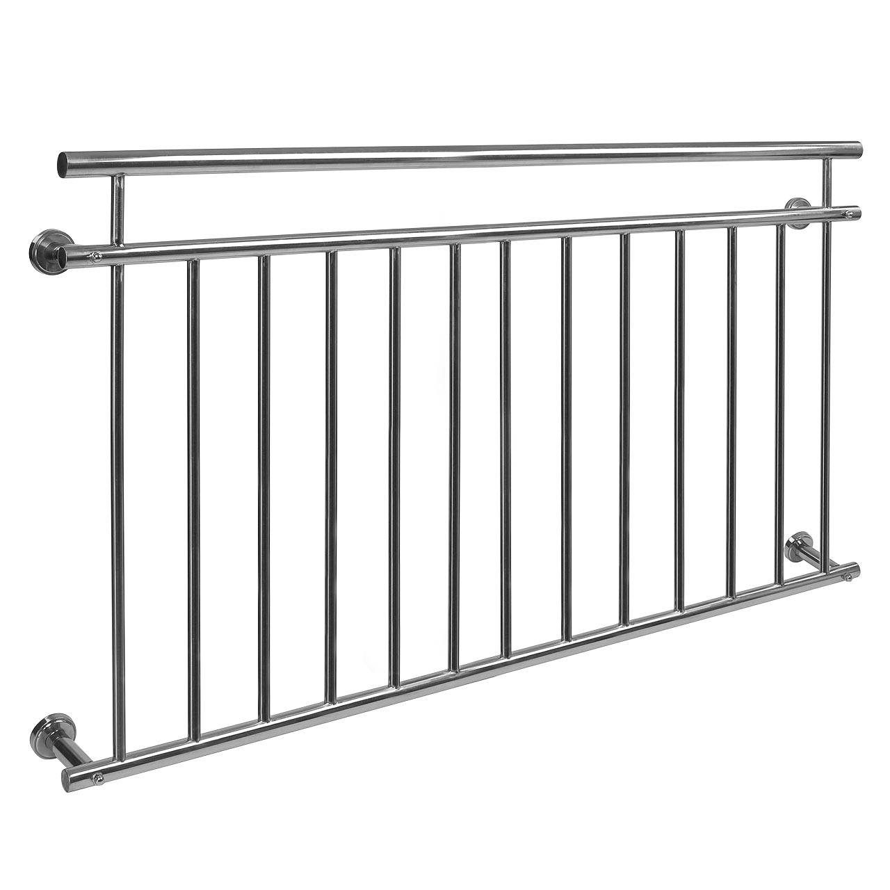 INOX-Balkongitter-Franzoesischer-Balkon-Fenstergitter-Gelaender-V2Aox-Edelstahl