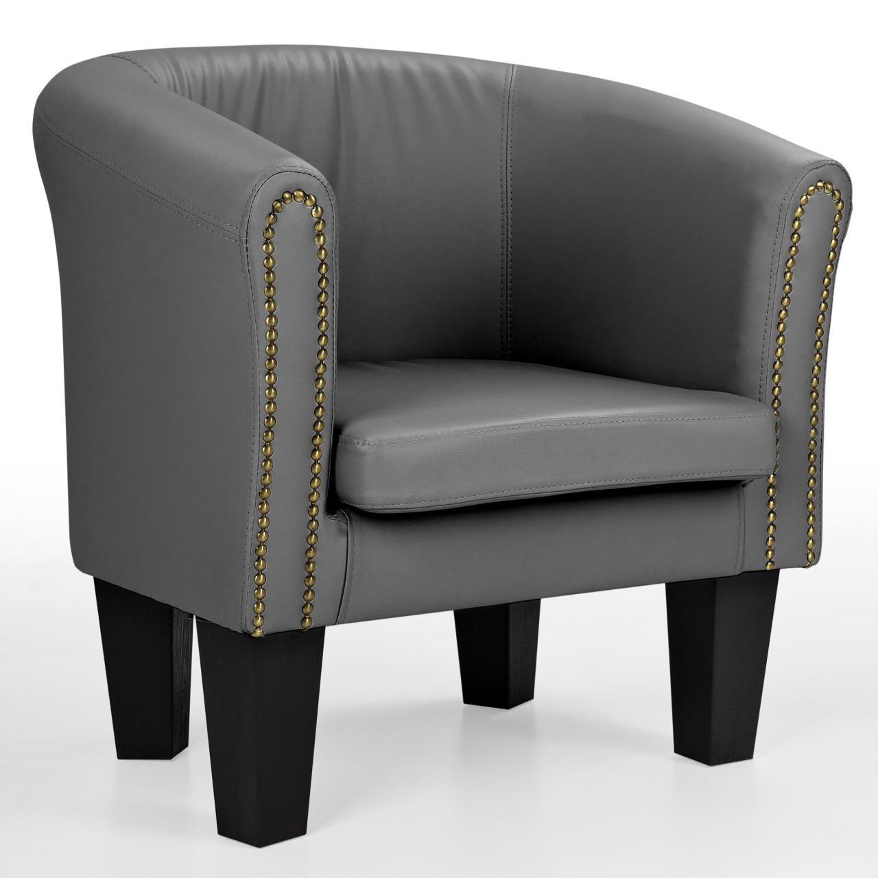 Sessel Lounge Chesterfield Polster Möbel HOMELUX Sessel