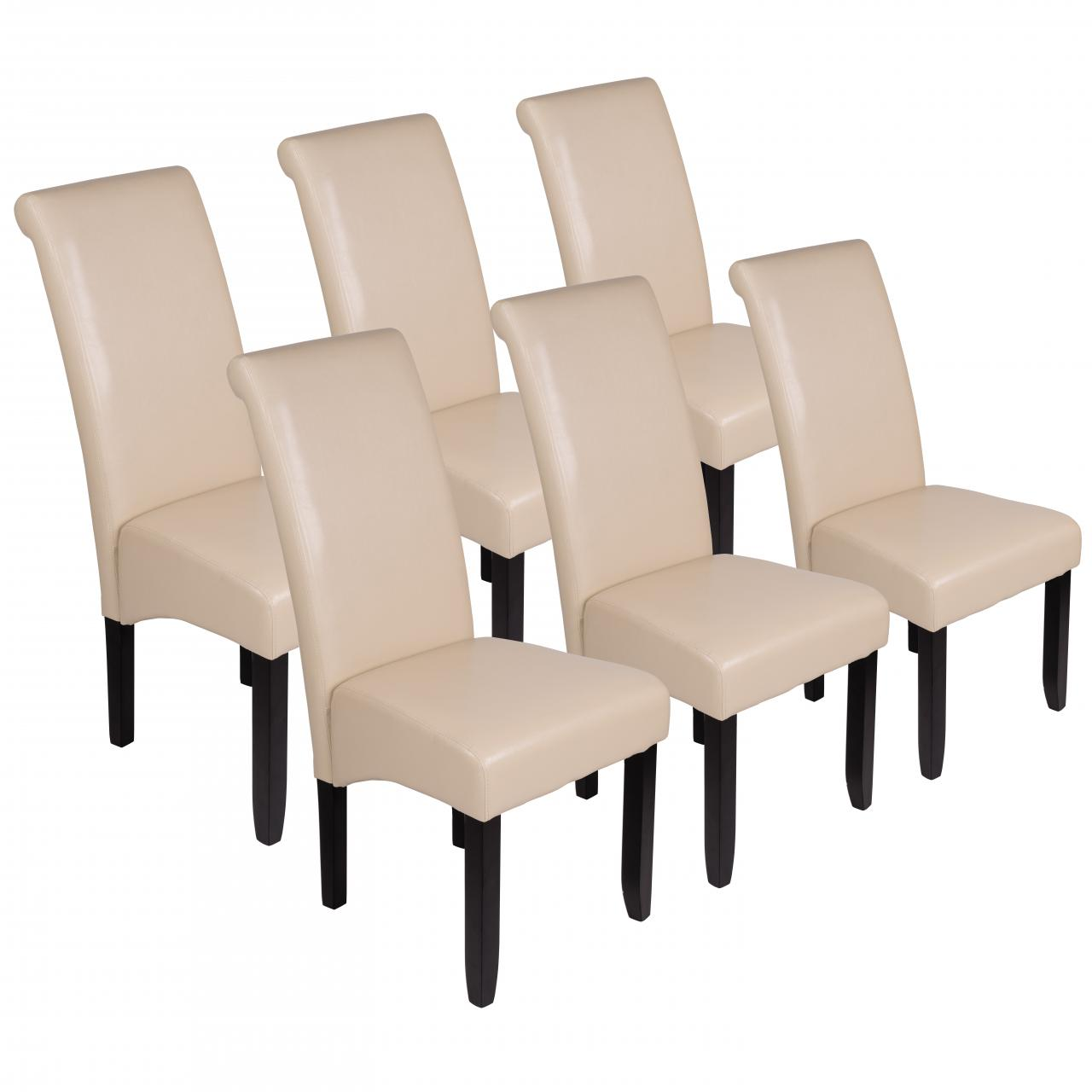 Beige Stühle esszimmerstühle stühle küchenstühle polsterstühle stuhlgruppe gastro