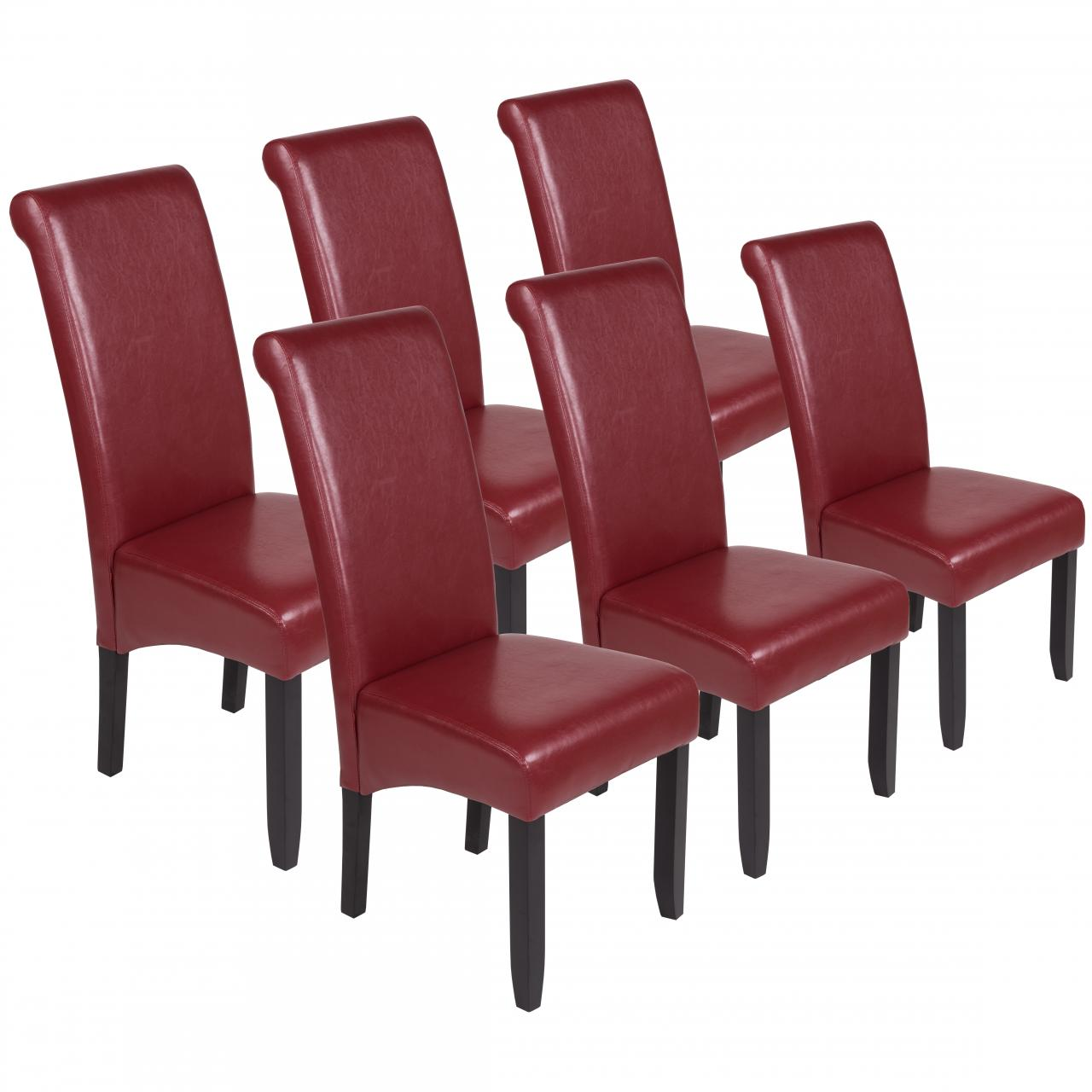 Esszimmerstuehle-Stuehle-Kuechenstuehle-Polsterstuehle-Stuhlgruppe-Gastro-Stuhl-Set